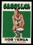 1971 Topps #167  Bob Verga  Front Thumbnail