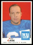 1969 Topps #197  Pete Case  Front Thumbnail
