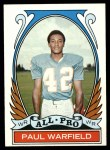 1972 Topps #271   -  Paul Warfield All-Pro Front Thumbnail