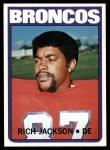 1972 Topps #310  Rich Jackson  Front Thumbnail