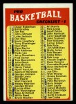 1971 Topps #144   Checklist 1 Front Thumbnail