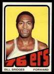 1972 Topps #17  Bill Bridges   Front Thumbnail