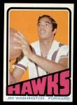 1972 Topps #22  Jim Washington   Front Thumbnail