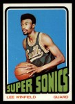 1972 Topps #33  Lee Winfield   Front Thumbnail