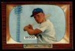 1955 Bowman #136  Rocky Bridges  Front Thumbnail