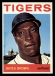 1964 Topps #471  Gates Brown  Front Thumbnail