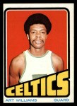 1972 Topps #19  Art Williams   Front Thumbnail
