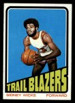 1972 Topps #20  Sidney Wicks   Front Thumbnail