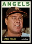 1964 Topps #554  Hank Foiles  Front Thumbnail
