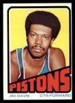 1972 Topps #51  Jim Davis   Front Thumbnail