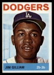 1964 Topps #310  Jim Gilliam  Front Thumbnail