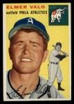 1954 Topps #145  Elmer Valo  Front Thumbnail
