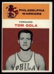 1961 Fleer #14  Tom Gola  Front Thumbnail