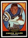 1967 Topps #129  Chuck Allen  Front Thumbnail