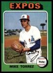 1975 Topps #254  Mike Torrez  Front Thumbnail