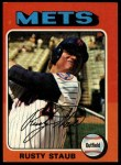 1975 Topps #90  Rusty Staub  Front Thumbnail