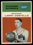 1961 Fleer #9  Larry Costello  Front Thumbnail