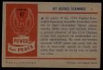1954 Bowman Power for Peace #67   Jet Jockies Scramble Back Thumbnail