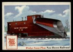 1955 Topps Rails & Sails #31   Wedge Snow Plow Front Thumbnail