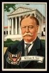 1956 Topps U.S. Presidents #29  William H. Taft  Front Thumbnail