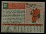 1959 Topps #321 ^OPT^ Bob Giallombardo  Back Thumbnail