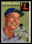 1954 Topps #227  Buster Mills  Front Thumbnail