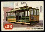 1955 Topps Rails & Sails #66   Cable Car Front Thumbnail