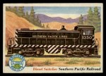 1955 Topps Rails & Sails #42   Diesel Switcher Front Thumbnail