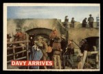 1956 Topps Davy Crockett #50 ORG  Davy Arrives  Front Thumbnail