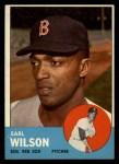 1963 Topps #76  Earl Wilson  Front Thumbnail