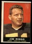 1961 Topps #44  Jim Ringo  Front Thumbnail