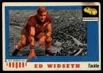 1955 Topps #48  Ed Widseth  Front Thumbnail