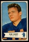 1954 Bowman #123  Kline Gilbert  Front Thumbnail