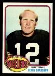 1976 Topps #75  Terry Bradshaw  Front Thumbnail