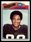 1977 Topps #195  Lynn Swann  Front Thumbnail