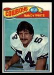 1977 Topps #342  Randy White  Front Thumbnail