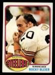 1976 Topps #522  Rocky Bleier  Front Thumbnail