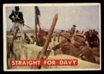 1956 Topps Davy Crockett #74 GRN  Straight For Davy  Front Thumbnail