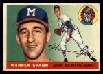 1955 Topps #31  Warren Spahn  Front Thumbnail