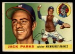 1955 Topps #23  Jack Parks  Front Thumbnail