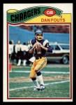 1977 Topps #274  Dan Fouts  Front Thumbnail