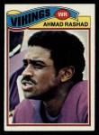 1977 Topps #359  Ahmad Rashad  Front Thumbnail
