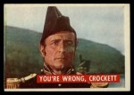 1956 Topps Davy Crockett #6 GRN  You're Wrong Front Thumbnail