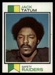 1973 Topps #288  Jack Tatum   Front Thumbnail