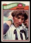 1977 Topps #65  Jim Zorn  Front Thumbnail