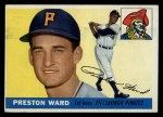 1955 Topps #95  Preston Ward  Front Thumbnail