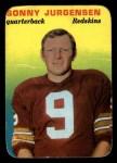 1970 Topps Glossy #20  Sonny Jurgensen  Front Thumbnail