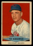 1954 Red Heart #14  Ted Kluszewski    Front Thumbnail