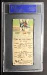 1911 T201 Mecca  Buck Herzog / Roy Doc Miller  Back Thumbnail