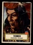1952 Topps Look 'N See #96  Tecumseh  Front Thumbnail